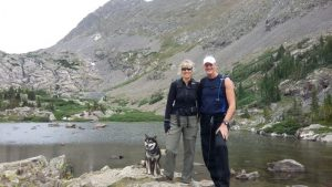 Kuma cools off by recalling a trip to Mohawk Lakes in Colorado